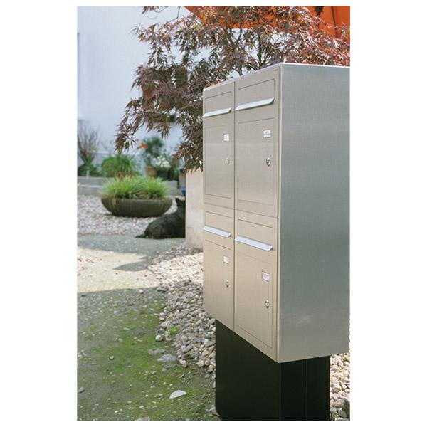 Briefkasten aus Edelstahl, individuell angefertigt