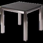 Gartentisch aus Edelstahl