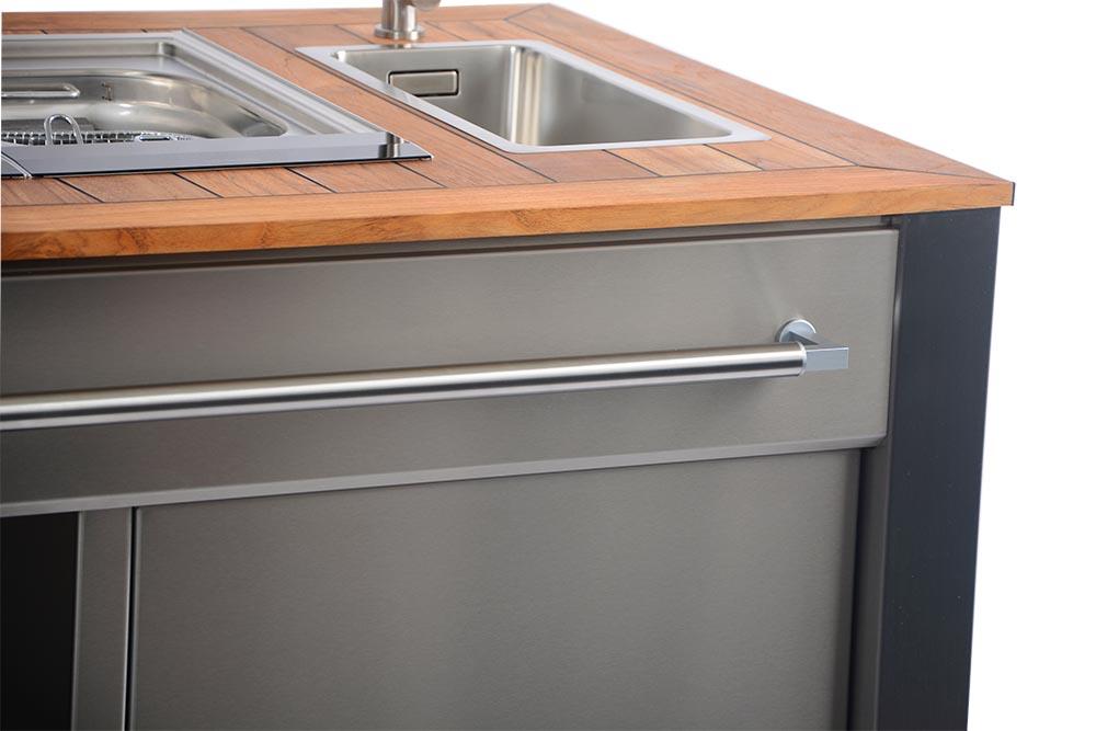 Outdoor Küche Edelstahl Vergleich : Individuelle outdoor küchen aus edelstahl hiska