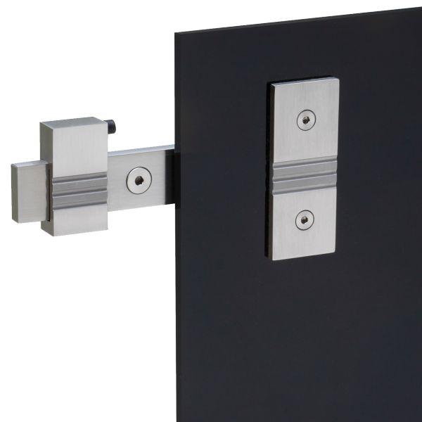Schiebetürsysteme Edelstahl im eckigen Design