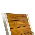 Gartenmöbel aus Edelstahl Modell Niza, Detailansicht Rückenlehne