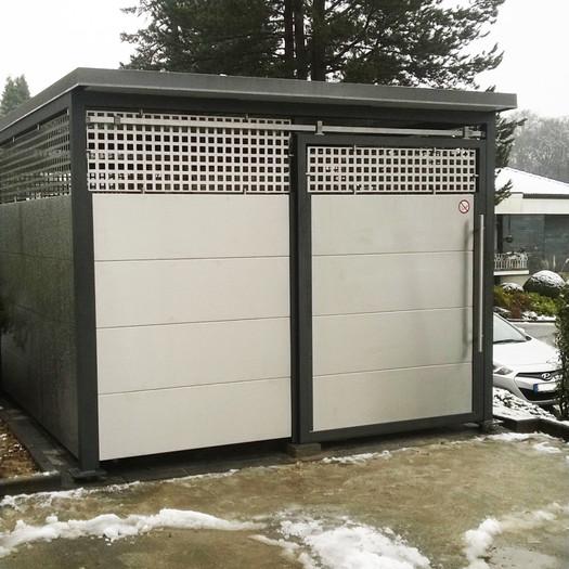 Mülltonnenbox Mu 200
