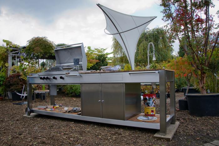 Outdoor Küche Edelstahl Zubehör : Dafür stehen unsere gartenmöbel aus edelstahl hiska