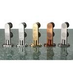 Modellvarianten der Drehtürbeschläge aus Edelstahl