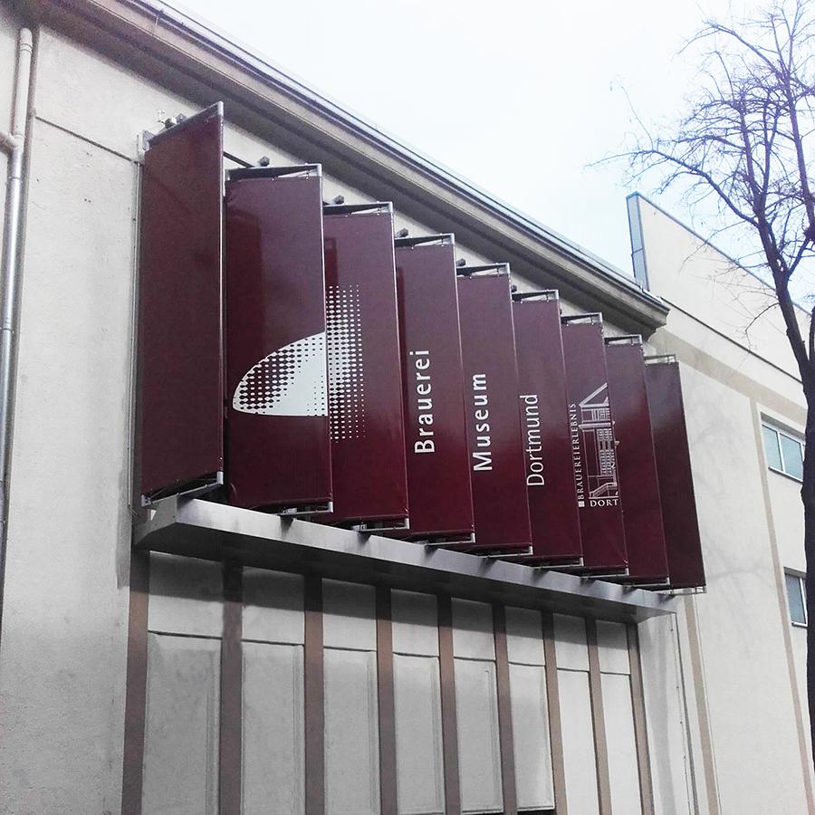 Brauerei Dortmund Lamellen