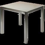 Gartenmöbel Edelstahl, Gartentisch aus Edelstahl